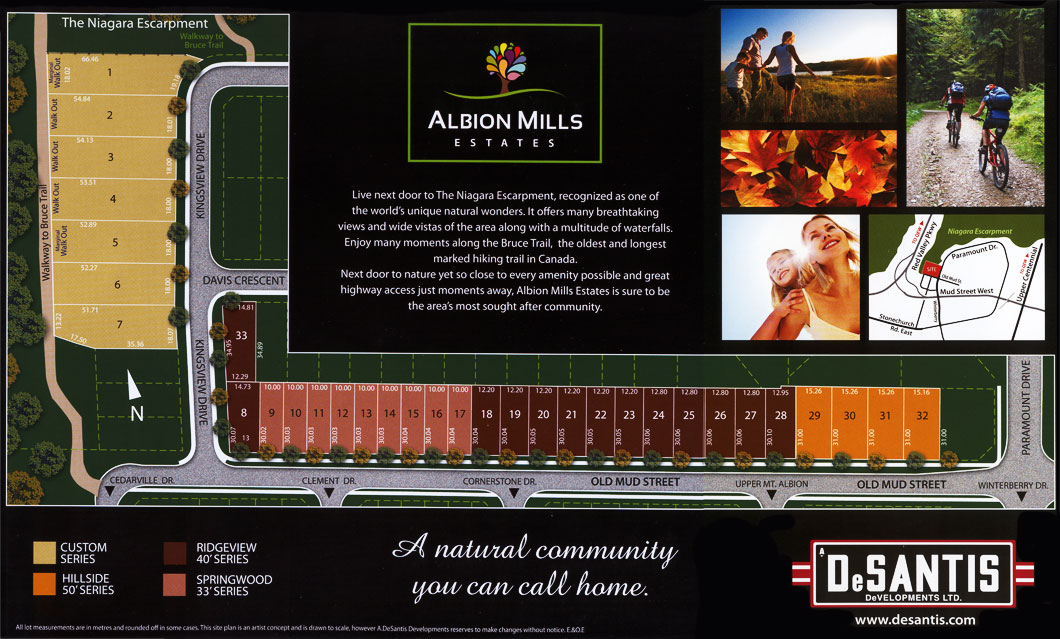 Albion Mills Layout